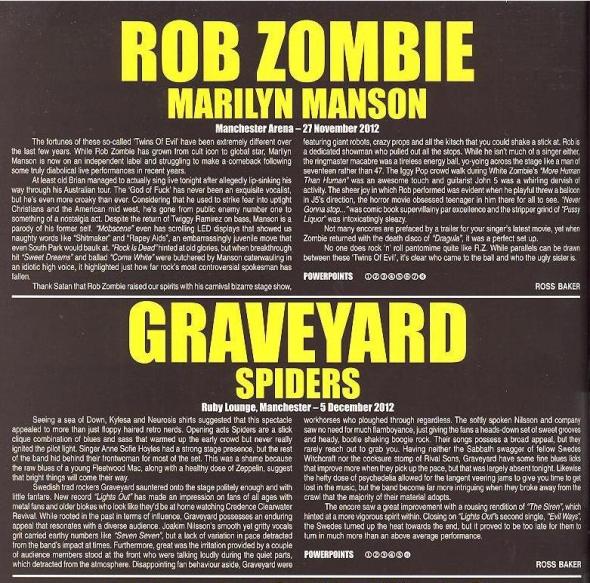 Rob Zombie & Graveyard