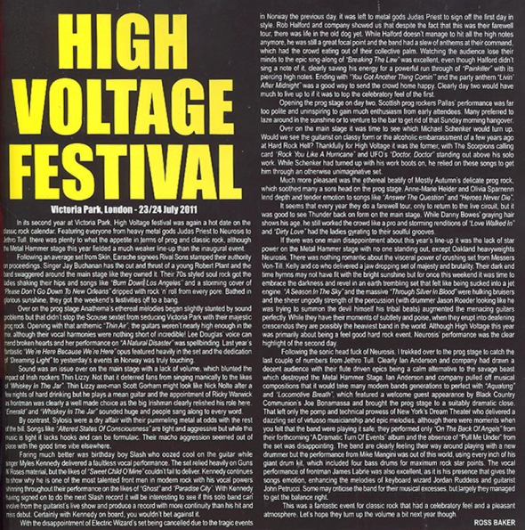 High Voltage Festival