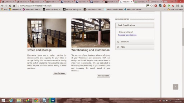 Content I wrote for the Raised Floor Storage company explaining the benefits a mezzanine floor provides such as extra storage space in offices and warehouses.